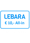 Lebara All-in Tegoed € 10,-